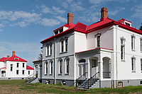 Lighthouse keeper's residence, Cape Disappointment State Park Washington