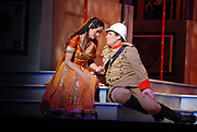 02/17/2009 -- GASTON DE CARDENAS/EL NUEVO HERALD -- Leah Partridge as hindu princess Lakme  and Bryan Griffin as Gerald in the Florida Grand Opera production of Lakme the Arsht Center for the Performing Arts