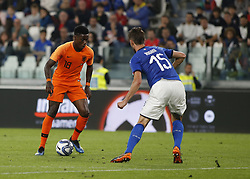 June 4, 2018 - Turin, Italy - Quincy Promes  during the International Friendly match between Italy v Holland at the Allianz Stadium on June 4, 2018 in Turin, Italy. (Credit Image: © Loris Roselli/NurPhoto via ZUMA Press)