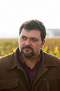 Jerome Depoizier, winemaker. Chateau Nenin, Pomerol, Bordeaux, France