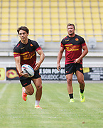 Picture by Laurent Selles/Catalans Dragons/via SWpix.com - 10/07/2020 Rugby League Betfred Super League 2020<br /> Back in training. Catalans Dragons' Arthur Mourgue back in training today at Stade Gilbert Brutus, Perpignan - France after the long lay off due to Coronavirus Covid 19 Pandemic