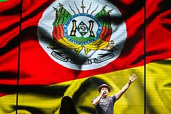 Wesley Safadão se apresenta no Palco Planeta durante a 22ª edição do Planeta Atlântida. O maior festival de música do Sul do Brasil ocorre nos dias 3 e 4 de fevereiro, na SABA, na praia de Atlântida, no Litoral Norte gaúcho.  Foto: Jefferson Bernardes / Agência Preview