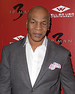 """MIKE TYSON at the L.A. premiere of """"Ip Man 3"""" at Pacific Theatres at The Grove in Los Angeles, California"""