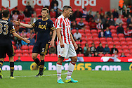 Jonathan Walters of Stoke City looks dejected at the final whistle. Premier league match, Stoke City v Tottenham Hotspur at the Bet365 Stadium in Stoke on Trent, Staffs on Saturday 10th September 2016.<br /> pic by Chris Stading, Andrew Orchard sports photography.
