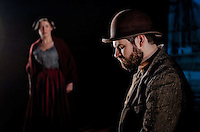 A new play by Tim Baker  'The spirit of the Mimosa' for Clwyd Theatr Cymru Theatre for young people. 7th june-1st July 2011...A new play by Tim Baker based on the increadible story of the most famous Welsh migration of 167 men ad women to Patagonia in 1865. Against huge odds and desperate conditions these brave migrants travelled over 7000miles on the Clipper ship The Mimosa witha all of their belongings to create a welsh speaking community which still exists and thrives today...All images copyright Richard Stonehouse, Stoehouse Photographic. Theatre and Commercial photographer based in Shropshire.Richard Stonehouse Photographer.