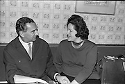 19/06/1963.06/19/1963.19 June 1963.Tiboor paul, conductor of the Radio Eireann Symphony Orchestra and Madame Astrid Varnay pictured at St Francis Xavier Hall, Dublin, before rehearsing with the Radio Eireann Symphony Orchestra.
