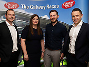 25/09/2018 Repro free: GoBus's Donal Burke, Breege Lynch, Darragh Burke and Patrick Nolan at the launch of Galway Race course  details of their new and exciting three-day October Festival that takes place over the Bank Holiday weekend, Saturday 27th, Sunday 28th and Monday 29th continuing racing and glamour into the Autumn.<br />   Each of the three race days offers something for all the family to enjoy, with a special theme attached to each day, together with fantastic horse racing, live music, delicious hospitality, entertainment and of course the meeting of old friends and new at Ballybrit.  <br /> Halloween Family Fun <br /> On Saturday 27th October come along with your children and grand children and enjoy the 'Spooktacular' Halloween themed family fun day with lots of entertainment including a fancy-dress competition, Halloween games and face painting to mention but a few!! All weekend children under 16 years of age have free admission. <br /> Race in Pink <br /> As part of this new October Festival and with-it being Breast Cancer Awareness month, Galway Racecourse have partnered with The National Breast Cancer Research Institute to host a dedicated fundraiser on Sunday 28th October called 'Race in Pink'.  <br /> <br /> Student Race Day in aid of the Voluntary Services Abroad <br /> Monday sees the return of our annual 'Student Race Day' in conjunction with the Voluntary Services Abroad (a medical aid charity run by the fourth-year medical students of NUI, Galway), and the NUIG Rugby Club.  Each year, this fundraising day for the student organisations raises a tremendous amount of money for their chosen projects including the VSA annual summer volunteer trip to Africa where they use the funds raised to help projects at the hospitals they visit. <br />  National hunt racing on Saturday kicks off at 2.05pm with racing Sunday and Monday off at 1.05pm. Adult admission on all three days is €15 with children under 16 years of age, free. For more information please c