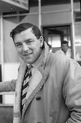 Irish Rugby Football Union,  Five Nations,Irish team leaves Dublin Airport for Cardiff, Dublin, Ireland, 11th March, 1965,.11.3.1965, 3.11.1965,