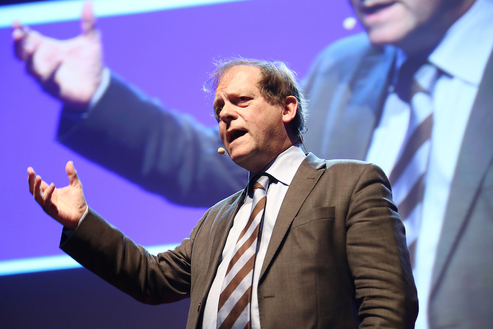 Session III - Back to the Future - 01 December 2014<br /> <br /> Rik Torfs   The Beauty of Universities<br /> <br /> TEDX BRUSSELS 2014 - The Territory and the MAP -  Belgium - Brussels - October 2014 © TEDx Brussels/Scorpix