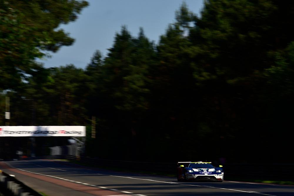 #69 Ford Chip Ganassi Racing Ford GT: Ryan Briscoe, Richard Westbrook, Scott Dixon<br /> Wednesday 13 June 2018<br /> 24 Hours of Le Mans<br /> 2018 24 Hours of Le Mans<br /> Circuit de la Sarthe  FR<br /> World Copyright: Scott R LePage