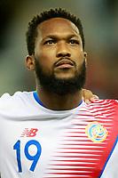 Costa Rica's Kendall Waston during international friendly match. November 11,2017.(ALTERPHOTOS/Acero)