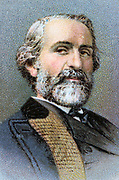 Guiseppe Verdi (1813-1901) Italian composer, particularly of opera. From card published 1912: Chromolithograph
