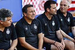August 2, 2018 - Sabadell, Spain - Eusebio Sacristan from Spain trainer of Girona FC during the friendly game against the CE Sabadell of the 2018/2019 La Liga pre season in la Nova Creu Alta Stadium, Sabadell on 02 of August of 2018. (Credit Image: © Xavier Bonilla/NurPhoto via ZUMA Press)