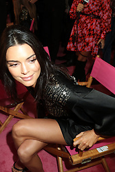 November 8, 2018 - New York, New York, United States - Model Kendall Jenner has her hair and make-up done prior to the Victoria's Secret Rinway show on November 8 2018 in New York City  (Credit Image: © Philip Vaughan/Ace Pictures via ZUMA Press)