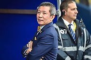 Oxford United owner Sumrith Thanakarnjanasuth during the EFL Sky Bet League 1 match between Oxford United and Coventry City at the Kassam Stadium, Oxford, England on 9 September 2018.