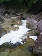 The famous Babinda Boulders along Babinda Creek, near Babinda, QLD, Australia.