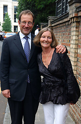 MR & MRS RICHARD DESMOND at Sir David & Lady Carina Frost's annual summer party held in Carlyle Square, Chelsea, London on 5th July 2006.<br /><br />NON EXCLUSIVE - WORLD RIGHTS