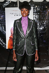 December 4, 2018 - Hollywood, California, United States - HOLLYWOOD, LOS ANGELES, CA, USA - DECEMBER 04: Actress KiKi Layne arrives at the Los Angeles Special Screening Of Annapurna Pictures' 'If Beale Street Could Talk' held at ArcLight Hollywood on December 4, 2018 in Hollywood, Los Angeles, California, United States. (Credit Image: © face to face via ZUMA Press)
