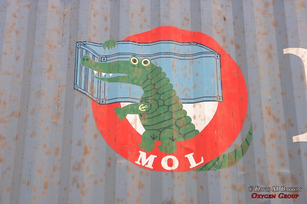 Crocodile Sign On Truck