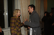 TRUDIE STYLER AND JOE SUMNER. The 10th Anniversary Human Rights Watch International Film Festival Benefit Gala  reception at Dartmouth House. 15 March 2006.  ONE TIME USE ONLY - DO NOT ARCHIVE  © Copyright Photograph by Dafydd Jones 66 Stockwell Park Rd. London SW9 0DA Tel 020 7733 0108 www.dafjones.com