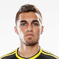 Feb 25, 2016; USA; Columbus Crew player Hector Jimenez poses for a photo. Mandatory Credit: USA TODAY Sports