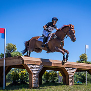 Ben Hobday (GBR) and Shadow Man during the FEI Eventing Nations Cup at the Brook Ledge Great Meadow International in The Plains, Virginia.