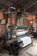 Loom machine in a silk production factory, Da Lat, Vietnam, Southeast Asia