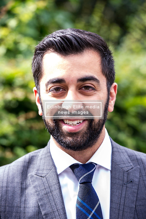 Pictured: Humza Yousaf<br /> <br /> Transport Minister Humza Yousaf launched the second phase of Switched on Scotland when he visited J & E Shepherd Chartered Surveyors today.  During the visit Mr Yousaf saw how the business is benefiting from adopting electric vehicles via the Low Carbon Transport Loan Fund, as he announced an additional GBP8.2 million to support the purchase of low-carbon vehicles. <br /> <br /> Ger Harley   EEm 13 June  2017