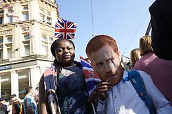 May 20, 2018 - Windsor, United Kingdom - Emmanuel and Shaneska AG ahaed the Royal Wedding of Prince Harry and Meghan Markle on May 19, 2018 in Windsor, Berkshire, United Kingdom (Credit Image: © Jack Abuin via ZUMA Wire)