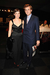 LADY ROSE INNES-KERR and her brother The HON.TED INNES-KERR children of the 10th Duke of Roxburghe at a preview of a forthcoming sale of cars from the Bernie Ecclestone Car Collection held at Battersea Evolution, Battersea Park, London SW11 on 30th October 2007.<br /><br />NON EXCLUSIVE - WORLD RIGHTS