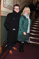 RICK ASTLEY and his wife LENE attend the premier of 2012 Cirque du Soleil's Totem at the Royal Albert Hall, London on 5th January 2012,