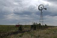 A windmill in the Kansas Flint Hills.