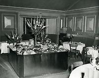 1948 La Rue's Restaurant on Sunset Blvd. in West Hollywood