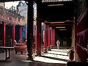 Vietnam, Ho Chi Min City:  Pagoda in Cholon district ( china town)..Vietnam, Ho Chi Min City:  Pagoda in Cholon district ( china town)..
