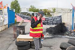 April 27, 2017 - Amiens, France - site de l'usine Whirlpool a Amiens.cgt (Credit Image: © Panoramic via ZUMA Press)