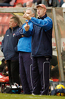 Photo: Leigh Quinnell.<br /> Swindon Town v Chester City. Coca Cola League 2. 24/02/2007. Chester boss Mark Wright.