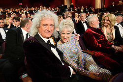 Brian May and Anita Dobson during the live telecast of The 91st Oscars® at the Dolby® Theatre in Hollywood, CA on Sunday, February 24, 2019.