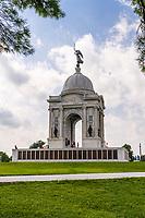 Pennsylvania State Memorial, Gettysburg National Military Park, Pennsylvania, USA.