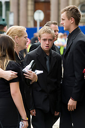 Military Funeral  of Trooper James Anthony Leverett from D (The Green Horse) Squadron, The Viking Group, The Royal Dragoon Guards who was killed in Afghanistan on Monday 5 July 2010. took place at Sheffield Cathederal 12:00pm 29th  July 2010 .Images © Paul David Drabble..
