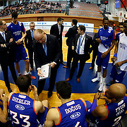 Anadolu Efes's headcoach Dusan Ivkovic during their Turkish Basketball Super League match Istanbul BBSK between Anadolu Efes at Cebeci Arena in Istanbul Turkey on Sunday 29 November 2015. Photo by Aykut AKICI/TURKPIX
