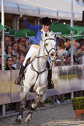 Melchior Judy Ann (BEL) - Levisto Z<br /> Sires of the World<br /> World Championship Young Horses Lanaken 2009<br /> © Hippo Foto - Leanjo de Koster