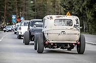 Springmeet 2019, Östersund - 18 MAJ 2019: Cruising på Krondikesvägen. (Foto: Per Danielsson/Projekt.P ) <br /> <br /> Nyckelord Keywords: Springmeet 2019, Crusing,