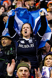 © Licensed to London News Pictures. 08/02/2014. Edinburgh, Scotland. <br /> Scotland take on England for the Calcutta cup at the RBS 6 Nations rugby tournament at Murrayfield in Edinburgh.  Photo credit : Duncan McGlynn/LNP
