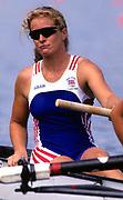 Atlanta, USA. GBR W8+. Annamarie STAPLETON, {DRYSDALE, PHELPS} 1996 Olympic Rowing Regatta Lake Lanier, Georgia [Mandatory Credit Peter Spurrier/ Intersport Images]
