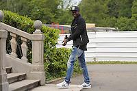 Steve Mandanda - 01.06.2015 -Equipe de France - Arrivee des joueurs a Clairefontaine<br /> Photo : Andre Ferreira / Icon Sport