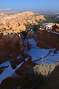USA, Utah, Bryce Canyon National Park, Bryce Canyon from Sunset Point