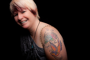 Cindy, Tattoo + You, A Photo Story of Body Ink