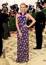 Poppy Delevingne attending the Metropolitan Museum of Art Costume Institute Benefit Gala 2018 in New York, USA.
