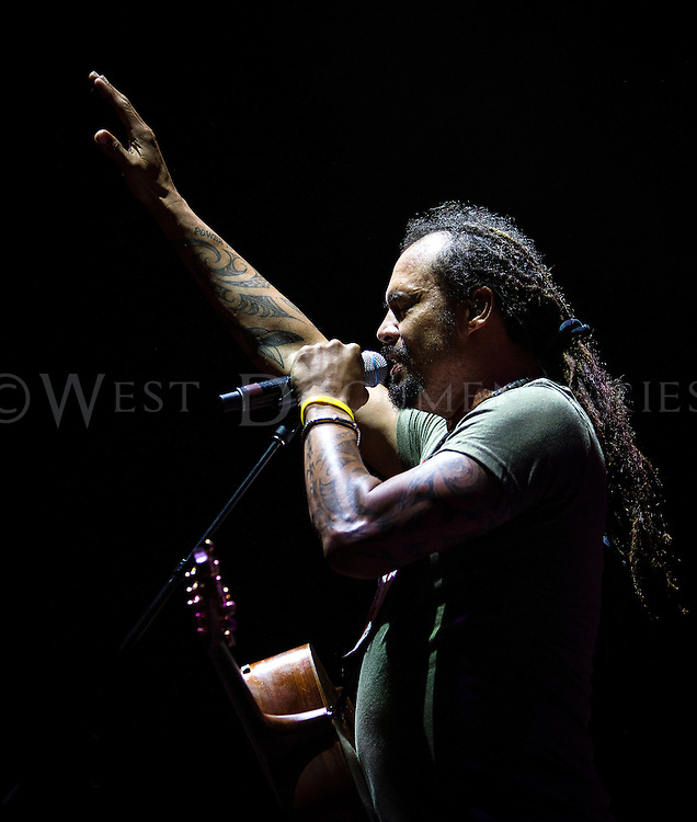 Michael Franti & Spearhead, Band Together and Step Up Ministries Benefit Event, Red Hat Amphitheater, June 27, 2015.