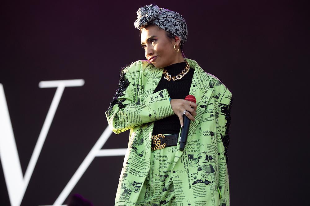 Yuna performs at Camp Flog Gnaw 2019 in Los Angeles, CA.